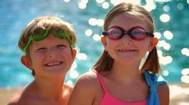 Fresh faces, enjoying the pool!